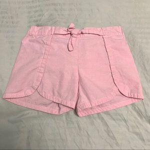 🌟 3/$20 Nautica Girl's Pink Canvas Shorts